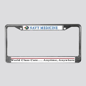 Navy Medicine License Plate Frame