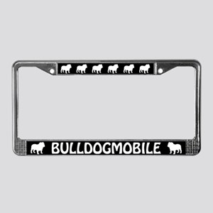 Bulldogmobile License Plate Frame