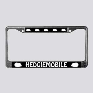 Hedgiemobile (Hedgehog) License Plate Frame