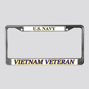 Navy Vietnam Vet (read Desc.) License Plate Frame