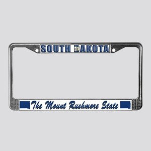 South Dakota Drk Lpt License Plate Frame