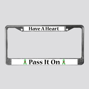 Have a Heart License Plate Frame