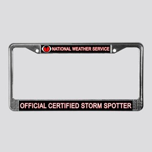 "SkyWARN ""Certified Spotter"" License Plat"