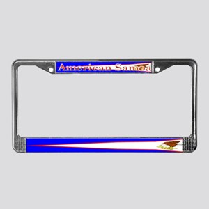 American Samoa Flag License Plate Frame