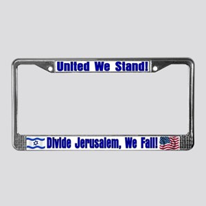 United We Stand! License Plate Frame