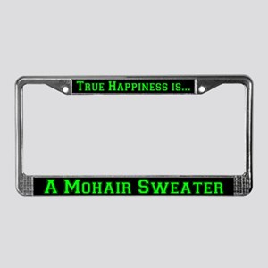Mohair Sweater License Plate Frame