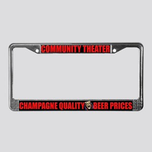Community Theater License Plate Frame