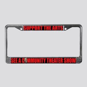 Support the Arts License Plate Frame