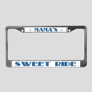 Mama's Sweet Ride License Plate Frame