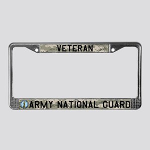 NG Veteran License Plate Frame