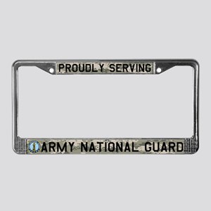 NG Still Serving License Plate Frame