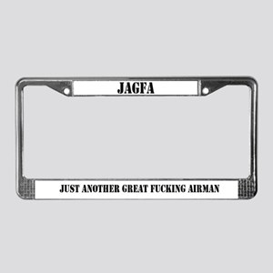 JAGFA License Plate Frame