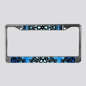 Decorative Medallion License Plate Frame
