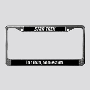 Star Trek License Plate Frame