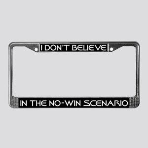 No-Win Scenario License Plate Frame