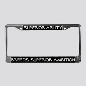 Khan Superior Ability License Plate Frame