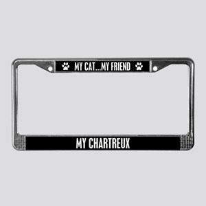 Chartreux License Plate Frame