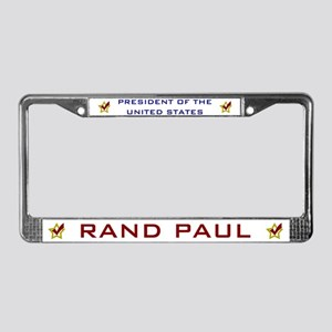 Rand Paul President USA V2 License Plate Frame