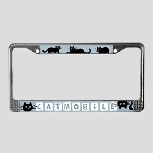 Catmobile License Plate Frame