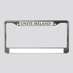 Unite Ireland Now! License Plate Frame