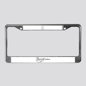 RenGal Creations License Plate Frame