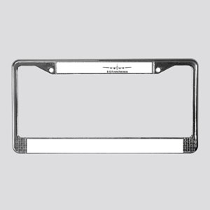 B-17 Flying Fortress License Plate Frame