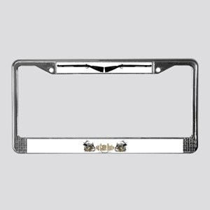 Big game elk and deer License Plate Frame
