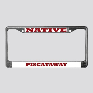 Piscataway Native License Plate Frame