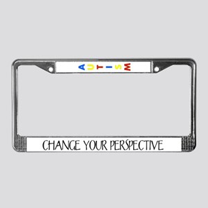 Perspective by Leah License Plate Frame