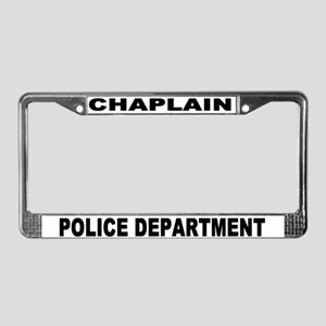 police Department License Plate Frame