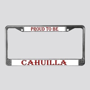 Proud to be Cahuilla License Plate Frame