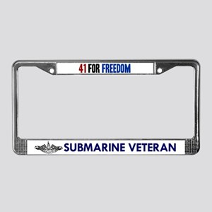 41 for Freedom License Plate Frame