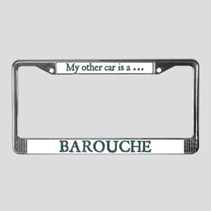 My Other Car Is A Barouche License Plate Frame