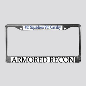 4th Squadron 9th Cav License Plate Frame