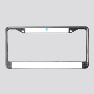 Awesome Pilot Gift Print Flyin License Plate Frame