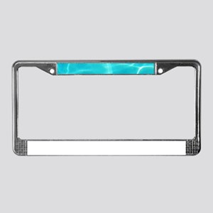 Swimming Pool License Plate Frame