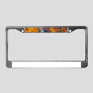 House on the Lake License Plate Frame