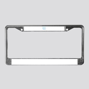 Frozen Witches License Plate Frame