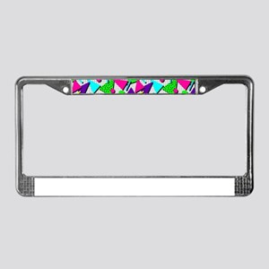 totally radical License Plate Frame