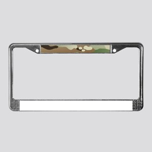 U.S. Army New Camouflage Patte License Plate Frame