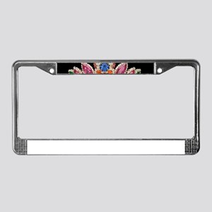 Costume Jewelry License Plate Frame