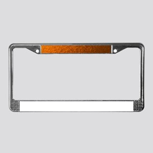 modern pattern of small colorf License Plate Frame