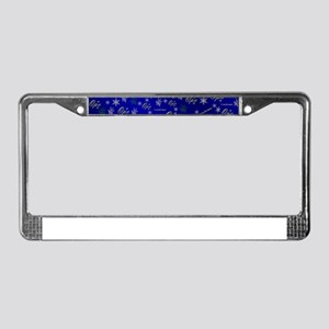 opa merry christmas License Plate Frame
