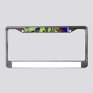 freaky friday neon green License Plate Frame