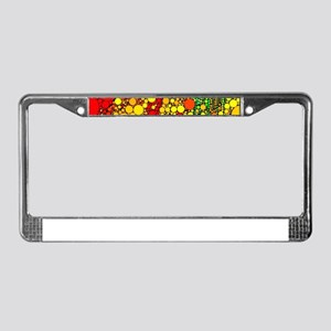 Bubble Shower License Plate Frame