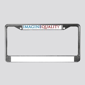 Imaginequality TP License Plate Frame