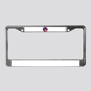 Samoan Smile License Plate Frame