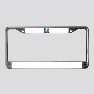 Catching a Ride License Plate Frame