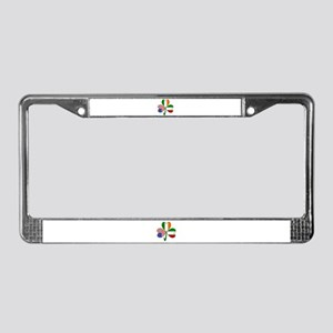 Shamrock of Italy License Plate Frame