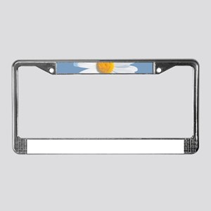 daisy License Plate Frame